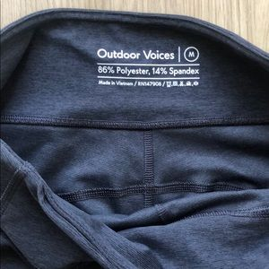 Outdoor Voices 7/8 leggings